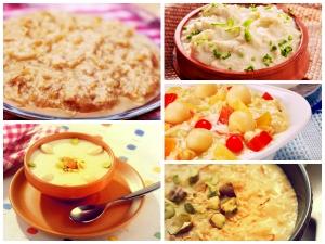 Ten Kheer Recipes For Sharad Purnima