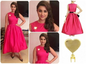 Parineeti Chopra Gets Fashionable With Neha Taneja