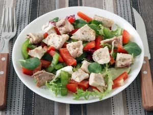 Healthy Indian Chicken Salad Recipe
