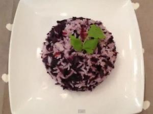 Twenty Minute Red Cabbage Pulav Recipe
