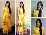 Regina Cassandra Brightens Up In Vasavi Shah Anarkali