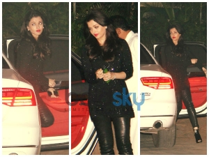 Aishwarya Rai In Black Leather
