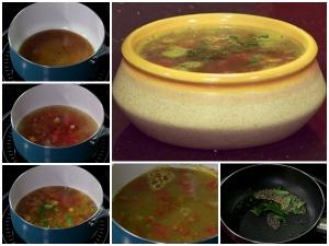 Udupi Style Tomato Rasam Recipe