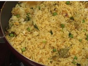 Fifteen Minute Masala Rice Rice Recipe