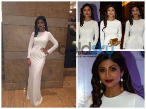 Shilpa Shetty And Malaika Arora Khan At The Brand Vision India 2015 Awards