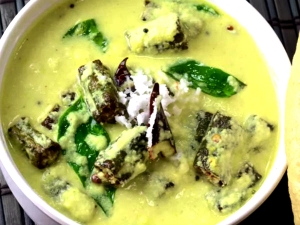 Chilli Dahi Bhindi Fry Recipe For Summer