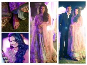 Sania Mirza Looks Beautiful In Anushree Reddy