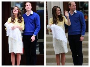 Kate Middleton Mellow Jenny Packham Post Delivery Dress