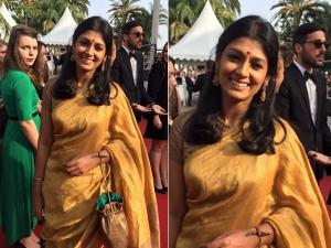 Nandita Das Auspicious Look At 2015 Cannes