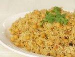 Tasty Chickpeas Biryani Recipe