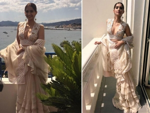 Sixty Eighth Cannes Film Festival Sonam Kapoor Graces In Ruffles