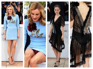 Cannes 2015 Natalie Portman Diane Kruger Wardrobe Malfunction