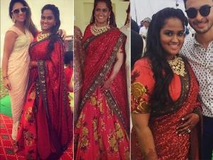 Arpita Khan Extravagant Wedding Look At Mandi