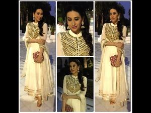 Karishma Kapoor Gorgeous In Ivory Hues