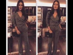 Kareena Kapoor Bajrangi Bhaijaan Screening Jumpsuit