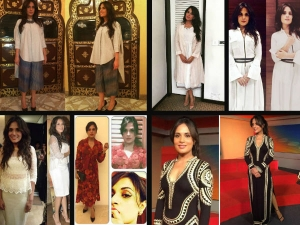 Richa Chadda Masaan Promotions Looks