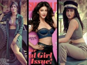 Shruti Hassan Cosmopolitan July 2015 Cover Pics