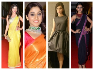 Six South Indian Starlets At Cinemaa 2015 Awards