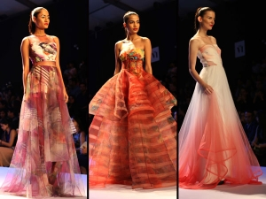 Bibfw 2015 Gauri And Nainika Sparkling Swarovski Crystals Couture
