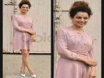 Kangana Ranaut Burberry Dress Louis Vuitton Pumps Katti Batti Promotions