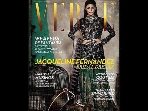 Jacqueline Fernandez Verve September Pics