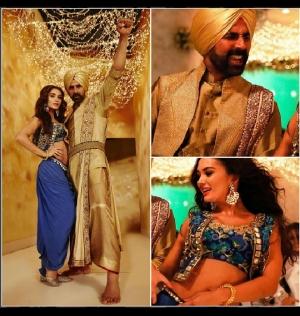 Amy Jackson Singh Is Bling Song Arpita Mehta Dhoti Pants