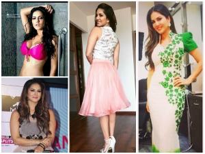 Sunny Leones Wardrobe Styling Appearances For Splitsvilla Season