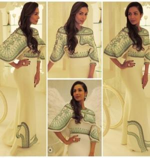 Malaika Arora Khan Pankaj And Nidhi Gown Born Stylish Interview