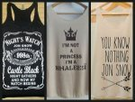 Game Of Thrones Inspired Tank Tops