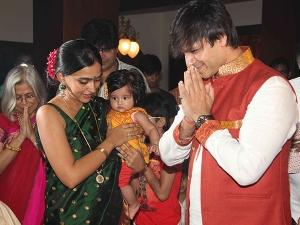 Bollywood Wardrobe Vivek Oberois Ganpati Visarjan Look