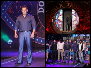 Bollywood Wardrobe Salman Khan Bigg Boss Season 9 Launch