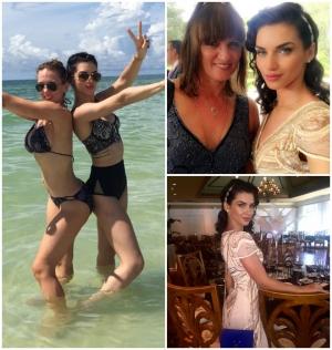 Bollywood Wardrobe Scarlett Wilson On Vacation In Florida