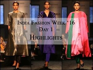 Amazon India Fashion Week First Day Wrap Up