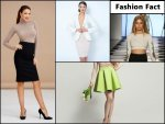 Fashion Fact The Birth Of The Pencil And A Line Skirts