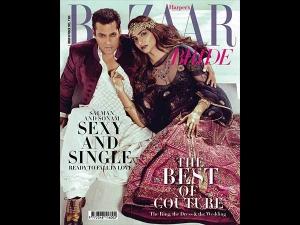 Harpers Bazaar Sonam Kapoor Salman Khan Oct