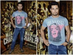 Bollywood Wardrobe Main Aur Charles Randeep Hooda At Media Interaction