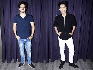 Bollywood Wardrobe Armaan And Amaal Malik At Media Event For Hate Story