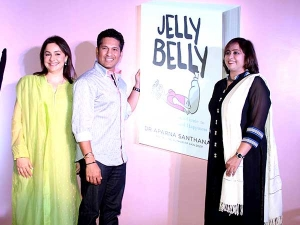 Sachin Tendulkar Shiny Polka Dot Looks At Book Launch