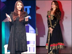 Birthday Wishes 6 Best Looks Of Aishwarya Rai Bachchan In Her Favourite Colour Black