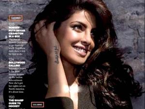 Hot Priyanka Chopra Dazzles On The Cover Of Sharp Magazine