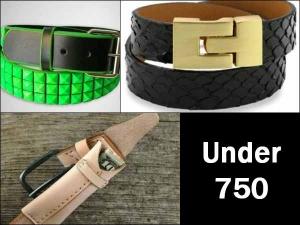 Budget Diaries Belts Under Rs 750 For Men And Women