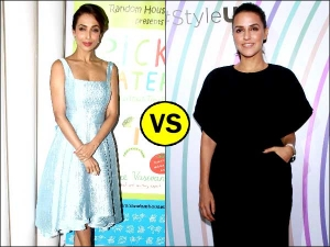 Neha Vs Malaika In A Dress Row