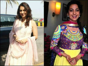 Best Looks Of Juhi Chawla In Indian Outfits For Her Birthday