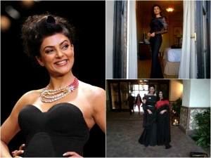 Star Signature Style Sushmita Sen And Her Love For Black Gowns