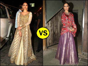 Celebrity Wardrobe Malaika Arora In Lehenga Or Aditi Rao In Anarkali Pick The Best