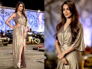 Malaika Arora Khan In Lola By Suman B Dress Check Her Gown