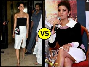 Celebrities Wearing Same Outfits Kangana Ranaut Nimrat Kaur