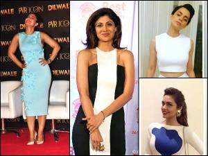 Gauri Nainika Label Bollywood Divas Wearing Their Collection