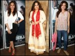 Screening Of Nerrja Catch Stars In Their Movie Outfits
