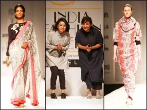 Amazon India Fashion Week 2016 Aw Dot On A Walk By Ilk